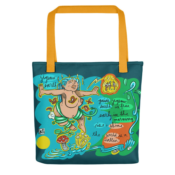 The Disco Biscuits - Lebo Collaboration - Lebo Tote bag