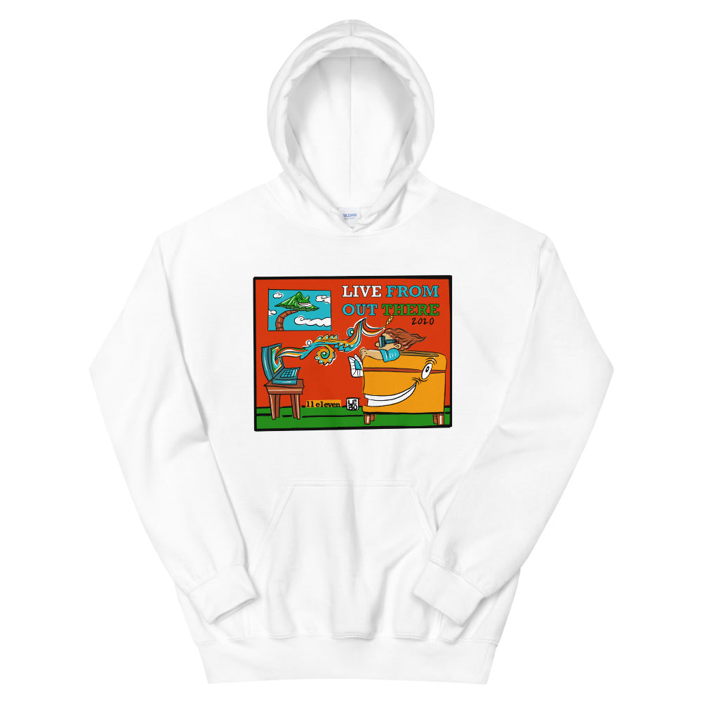 Live From Out There - Lebo Unisex Hoodie