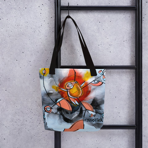 Connected – Lebo Tote bag