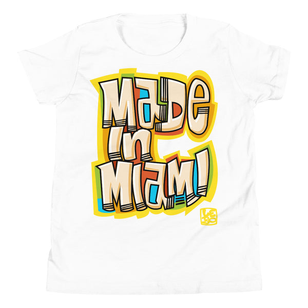 Made in Miami - Lebo Kids Youth Short Sleeve T-Shirt