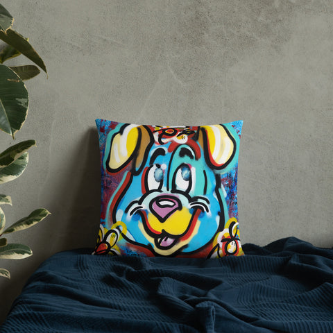 Search for the Unseen - Lebo Premium Throw Pillow