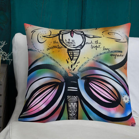 The Resurrection & The Light – Lebo Premium Pillow