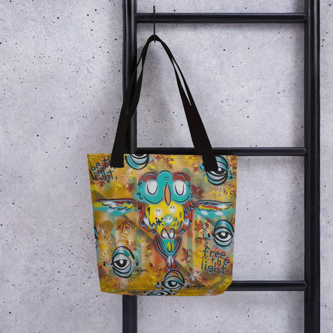 Be the light, free the light – Lebo Tote bag