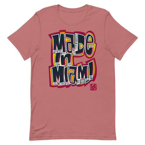 Made in Miami - Lebo Short-Sleeve Unisex T-Shirt