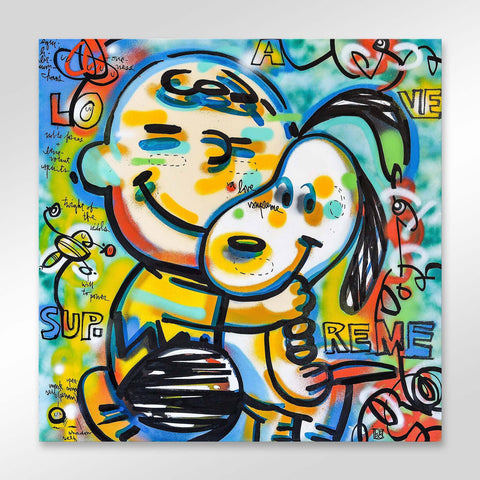 A Love Supreme - Charlie Brown and Snoopy - shop.leboart.com