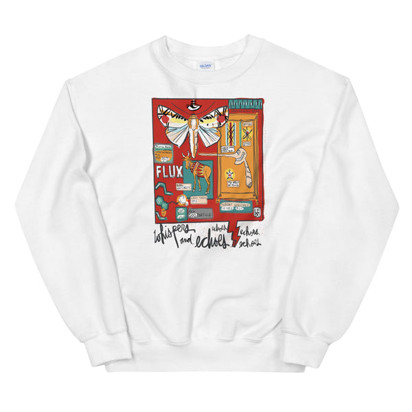 Whispers and Echos of Always and Forever - Lebo Unisex Sweatshirt