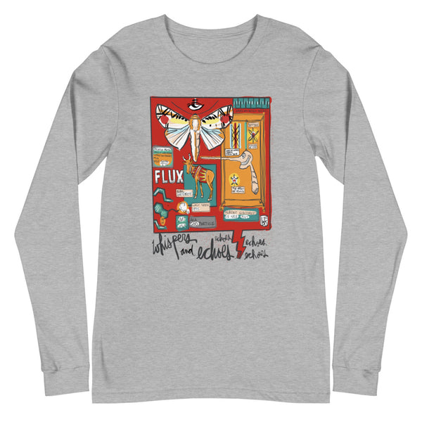 Whispers and Echos of Always and Forever - Lebo Unisex Long Sleeve Tee