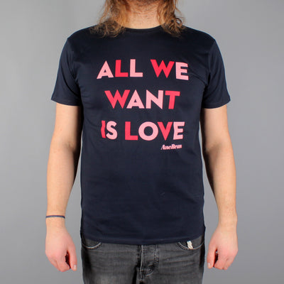 All We Want T-shirt Navy