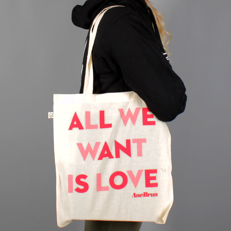 All We Want Tote White