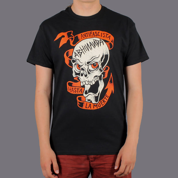 Antifascista T-shirt Black