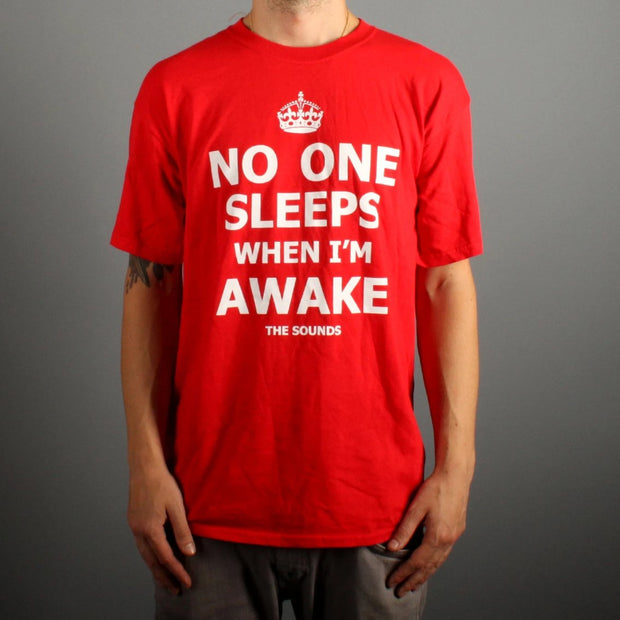 No One Sleeps (Red)