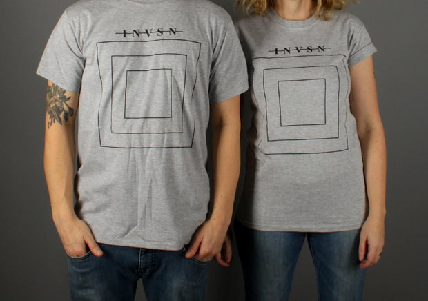 Square T-shirt Grey