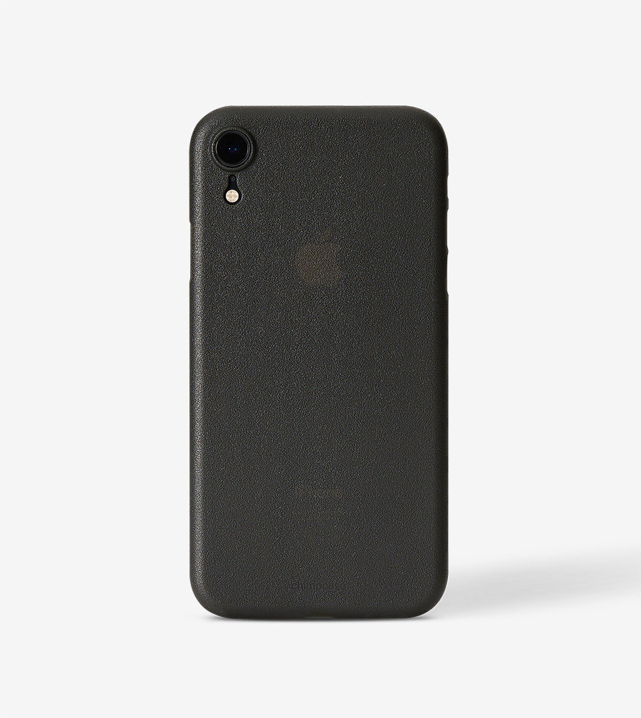 chimpcase iPhone X-R Skinny Case - frosty black