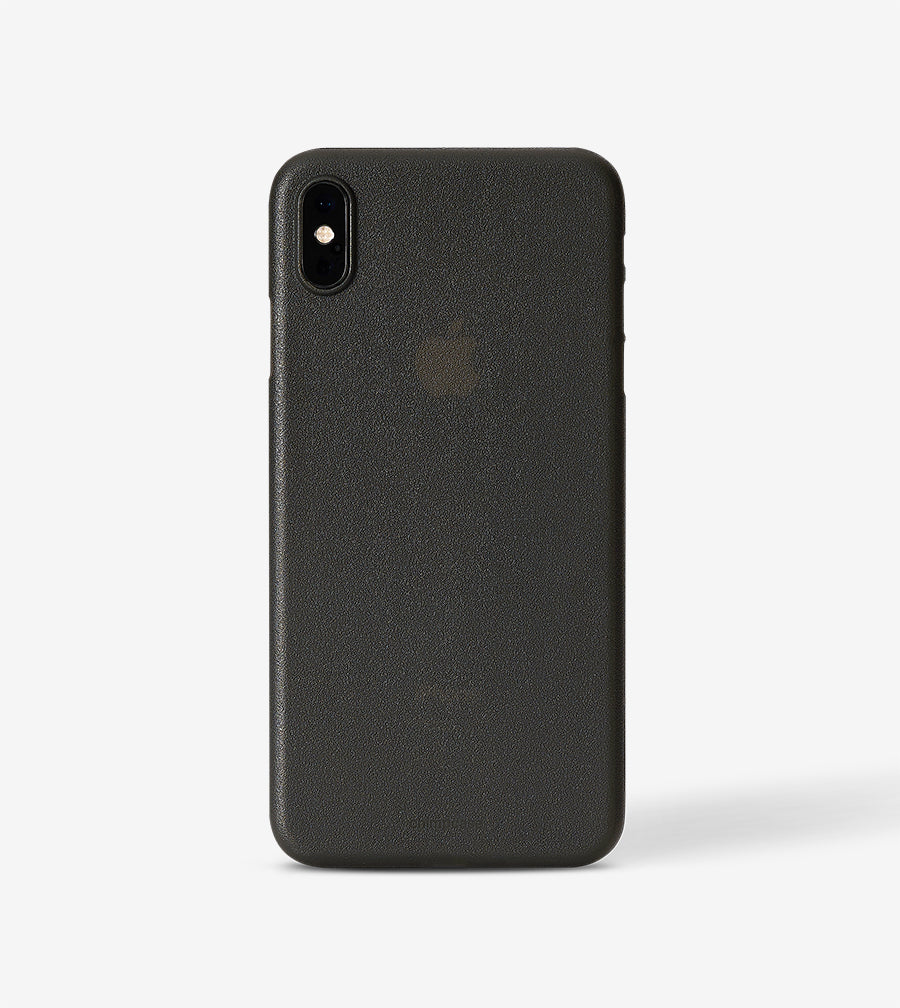 chimpcase iPhone X-S MAX Skinny Case - frosty black