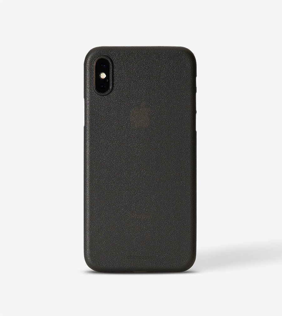 new arrival a23ca fd2bf chimpcase iPhone X Skinny Case - frosty black