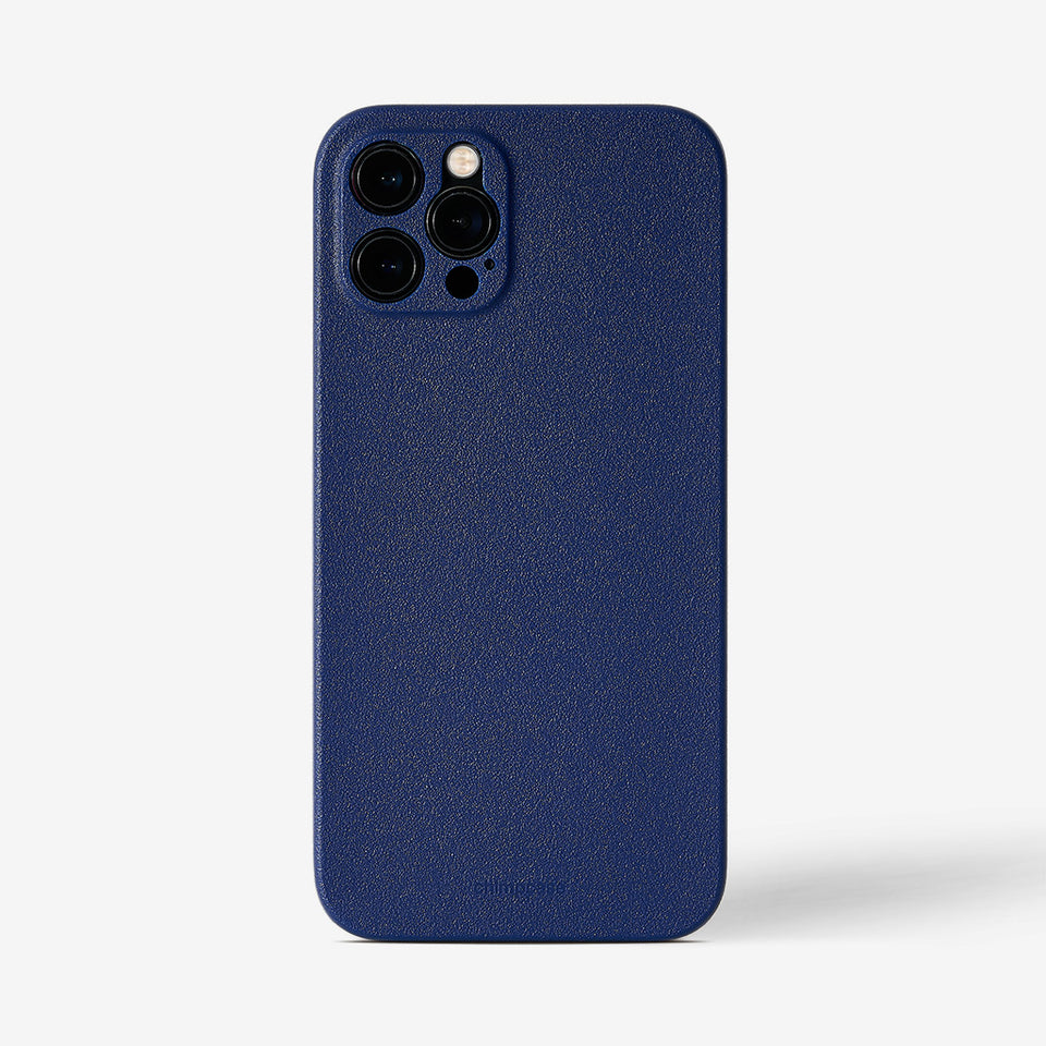 Ultra Slim iPhone 12 Pro Max Skinny Case - blueberry