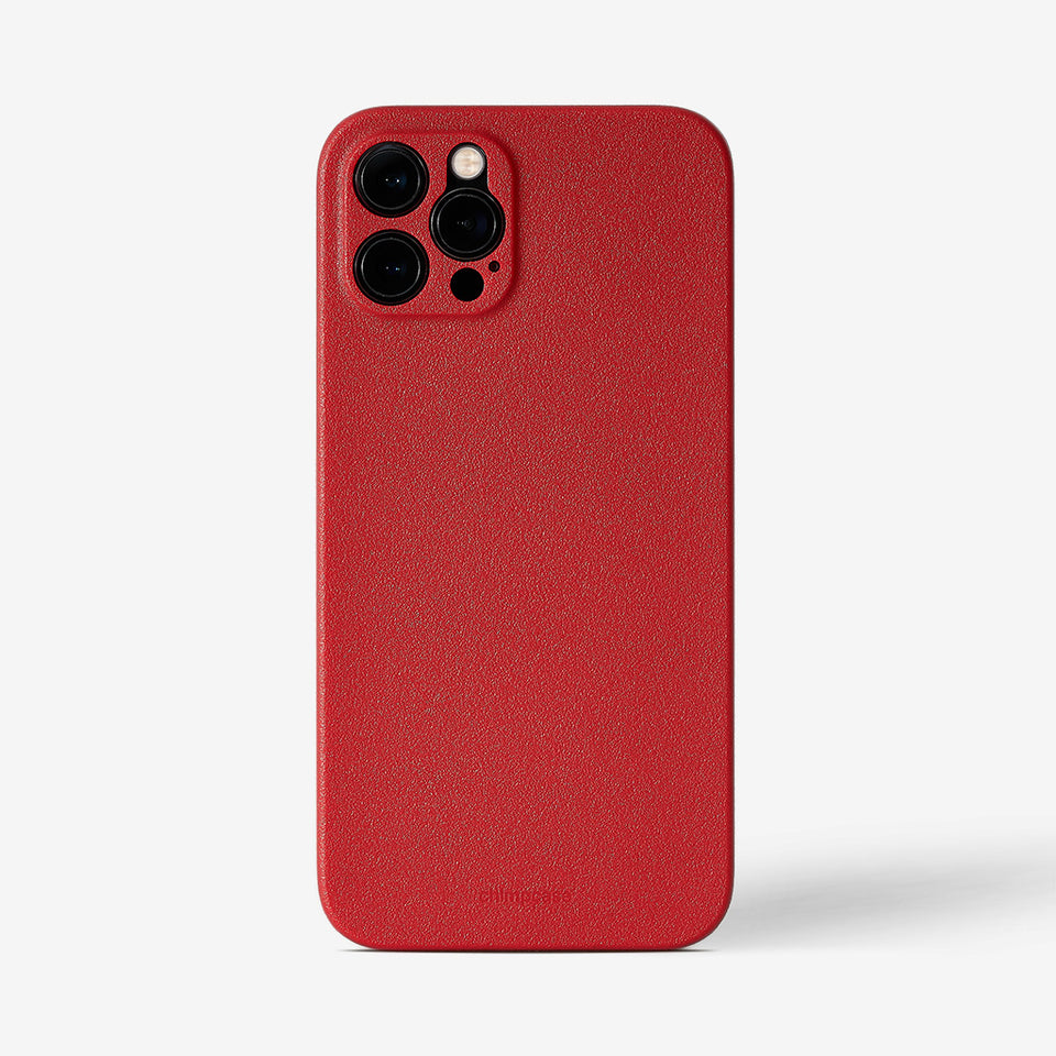 Ultra Slim iPhone 12 Pro Max Skinny Case - strawberry