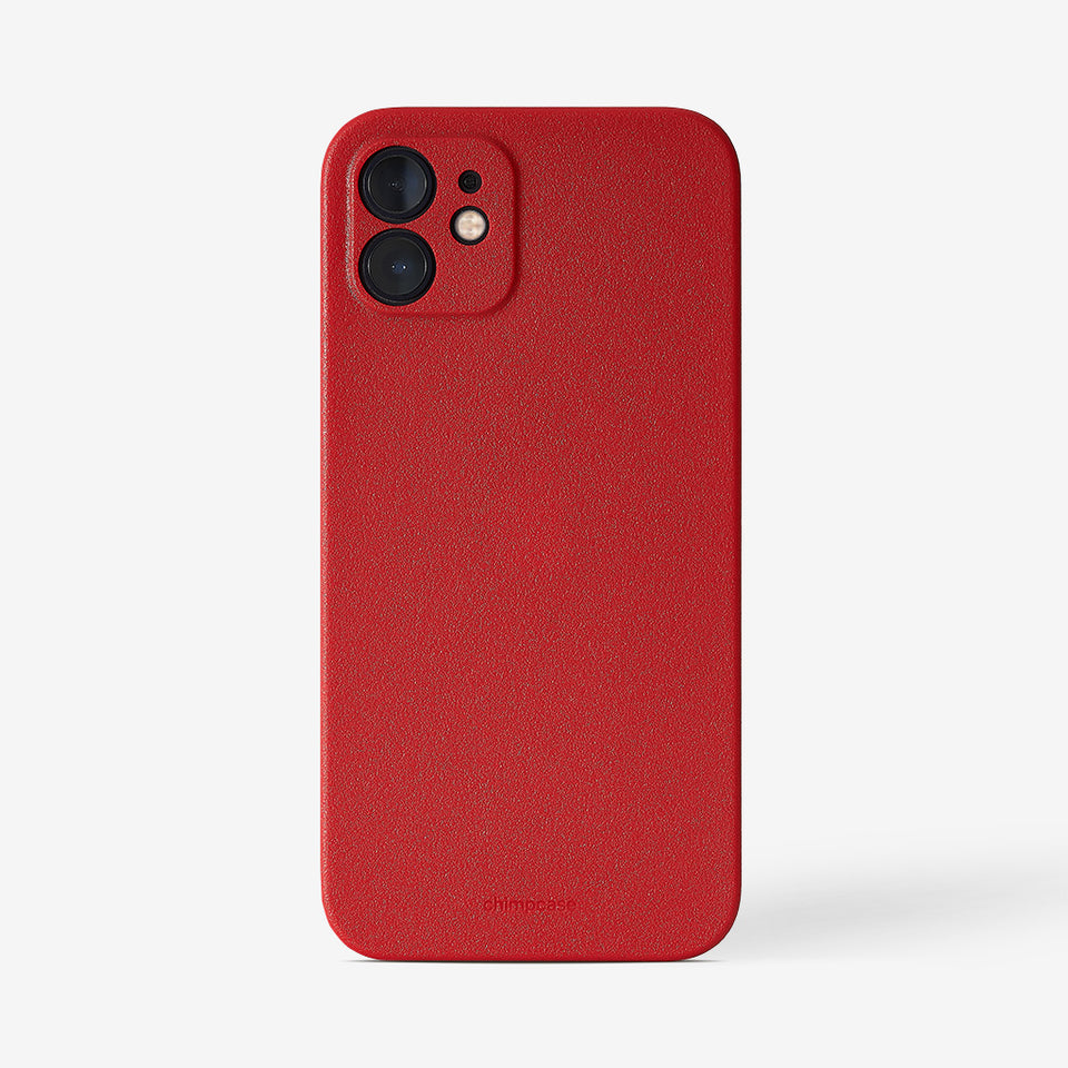 Ultra Slim iPhone 12 Skinny Case - strawberry