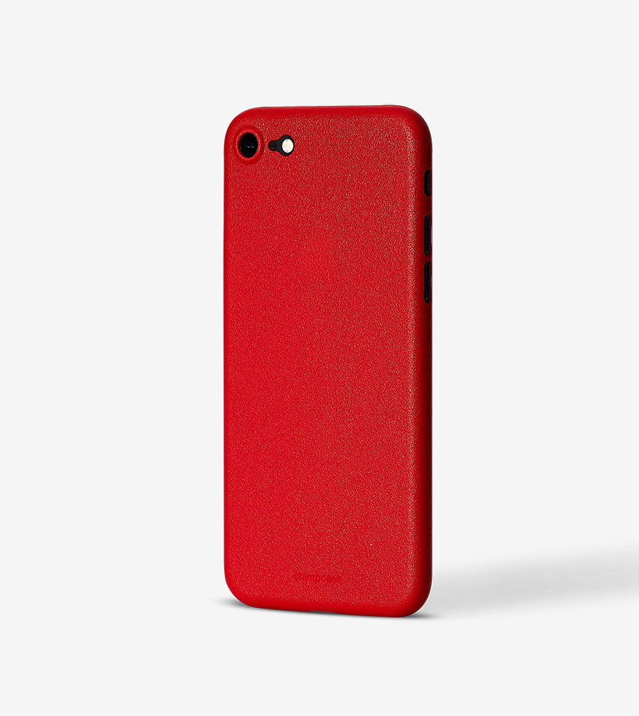 chimpcase iPhone SE / 8 / 7 Skinny Case - solid red