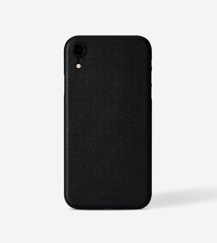 chimpcase iPhone X-R Skinny Case - solid black