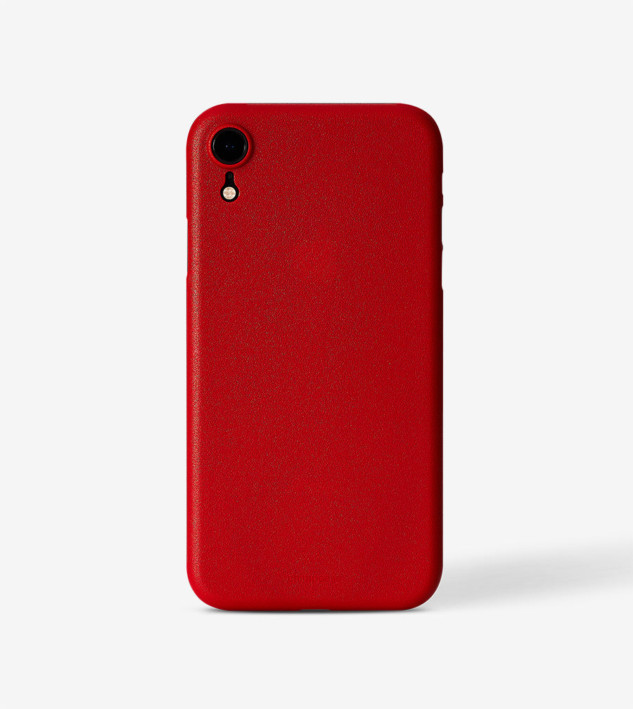 chimpcase iPhone X-R Skinny Case - solid red