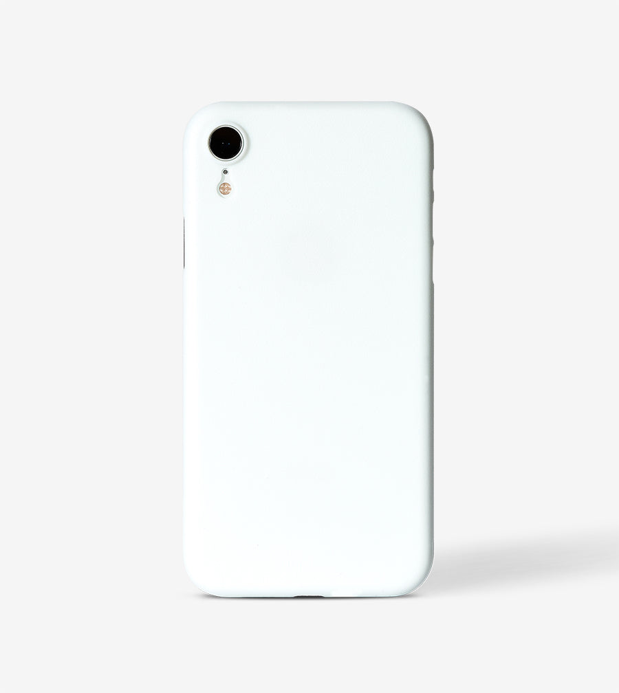chimpcase iPhone X-R Skinny Case - solid white