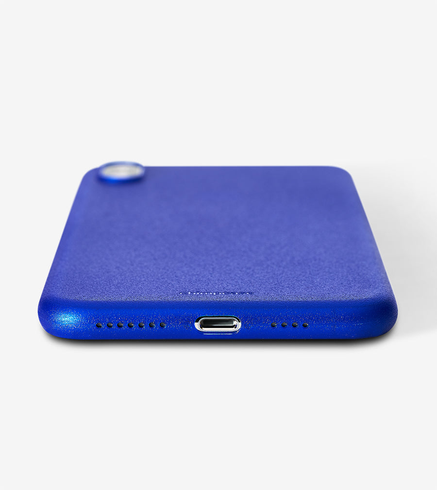chimpcase iPhone X-S MAX Skinny Case - frosty duke blue