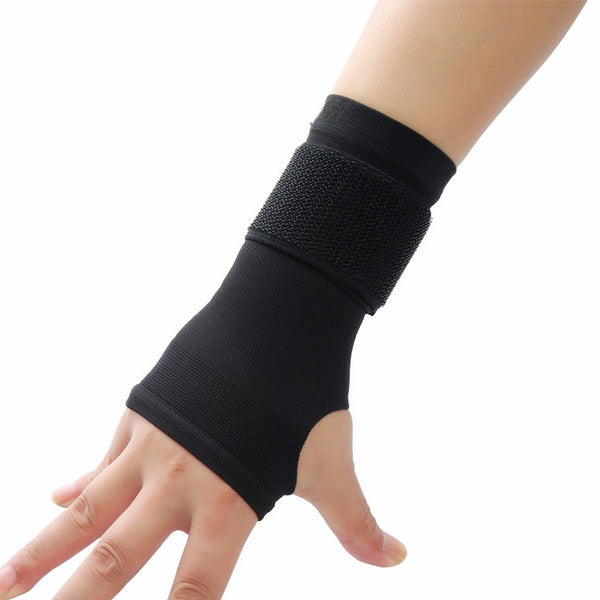 Ultra-thin adjustable wristbands (pressurize palm wrist support)