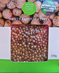 Kampot Pepper White (Anna Him Family)