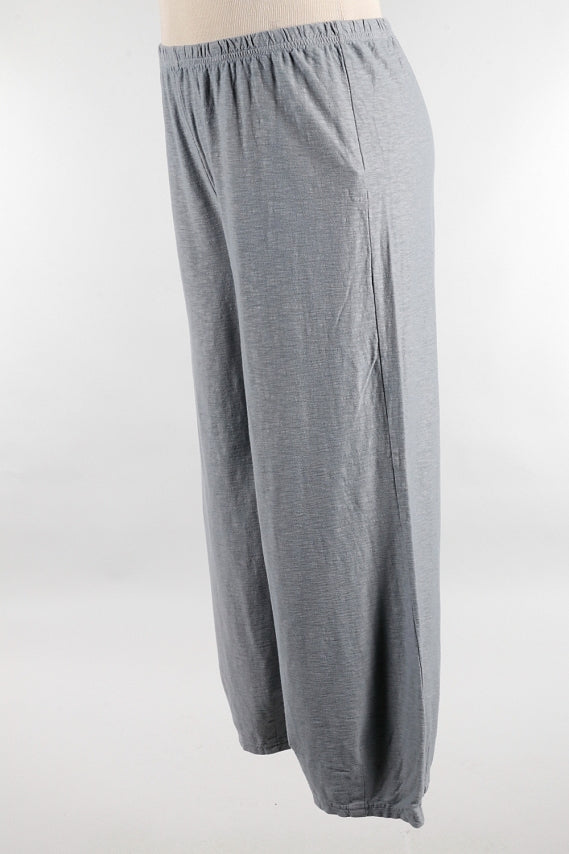 Overcast Linen Jersey Pant