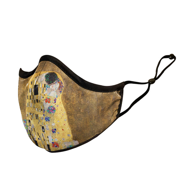 """The Kiss"" Klimt Face Mask"