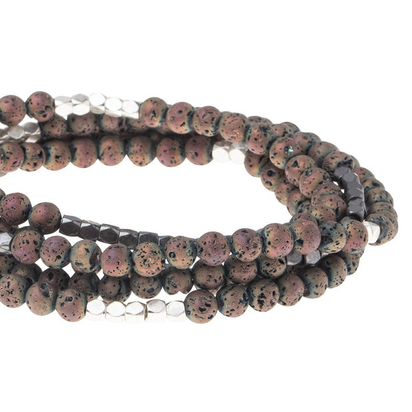 Rose Lava - Stone of Strength Wrap
