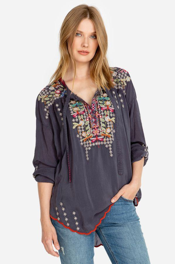 Dragonfly Cupro Blouse