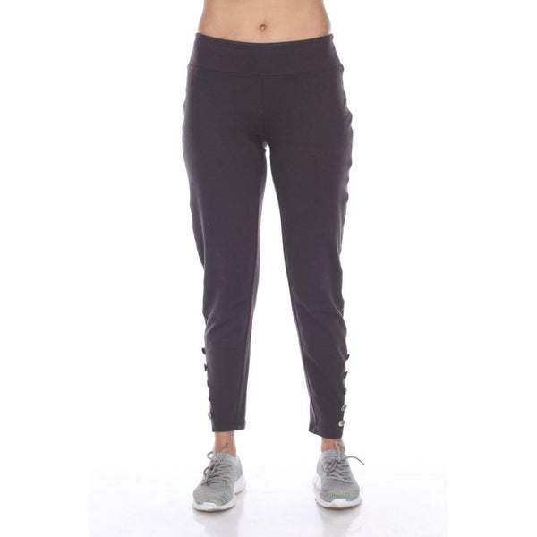 Carbon Button Pant