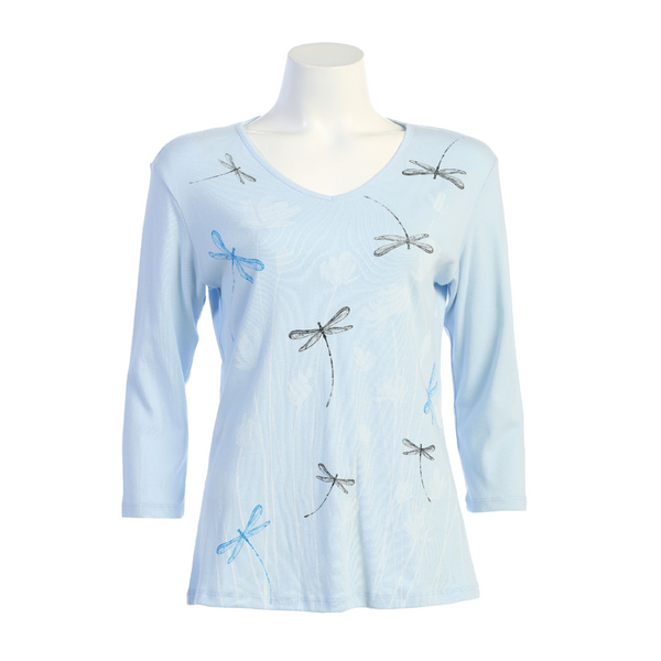 Dragon Fly Cotton V Top