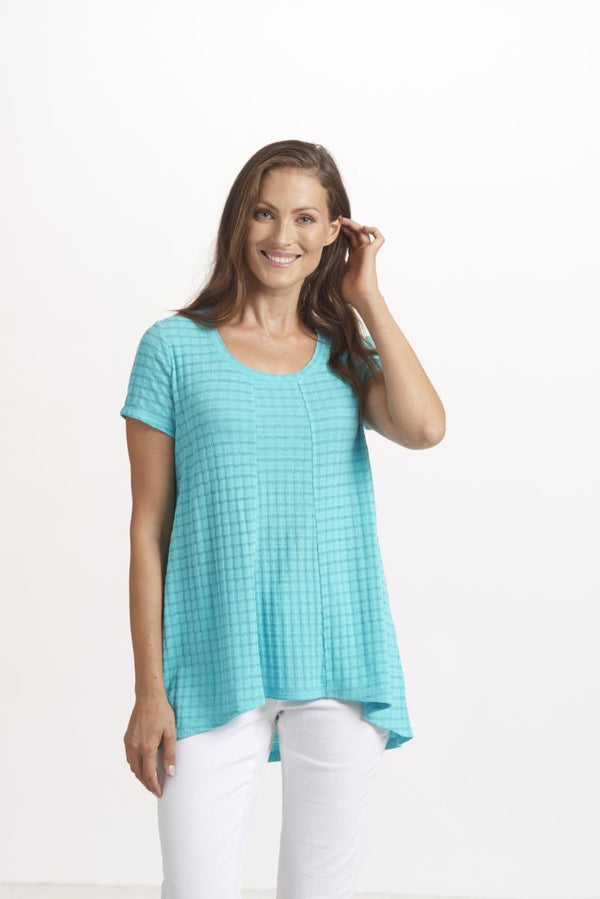 Turquoise Panel Top
