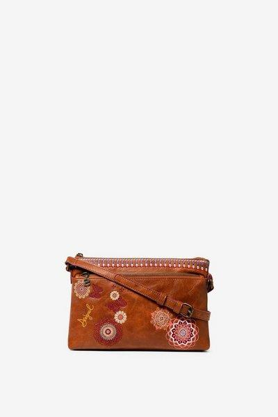 Bown Embroidered Cross Body
