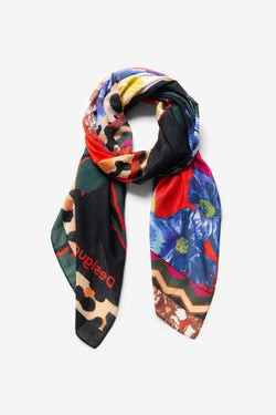 Floral Patch Scarf