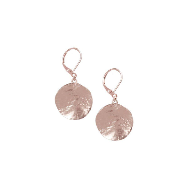 Rose Gold Texture Earring