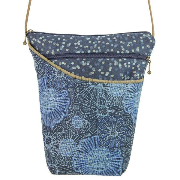 Blooming Blue City Girl Bag