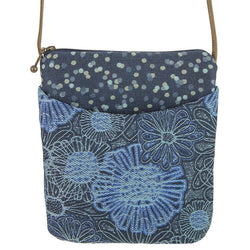 Bloom Blue Small Crossbody