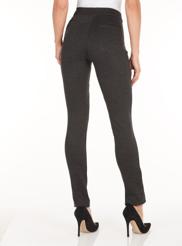 Charcoal Ponti Wonderwaist Pull On Jegging