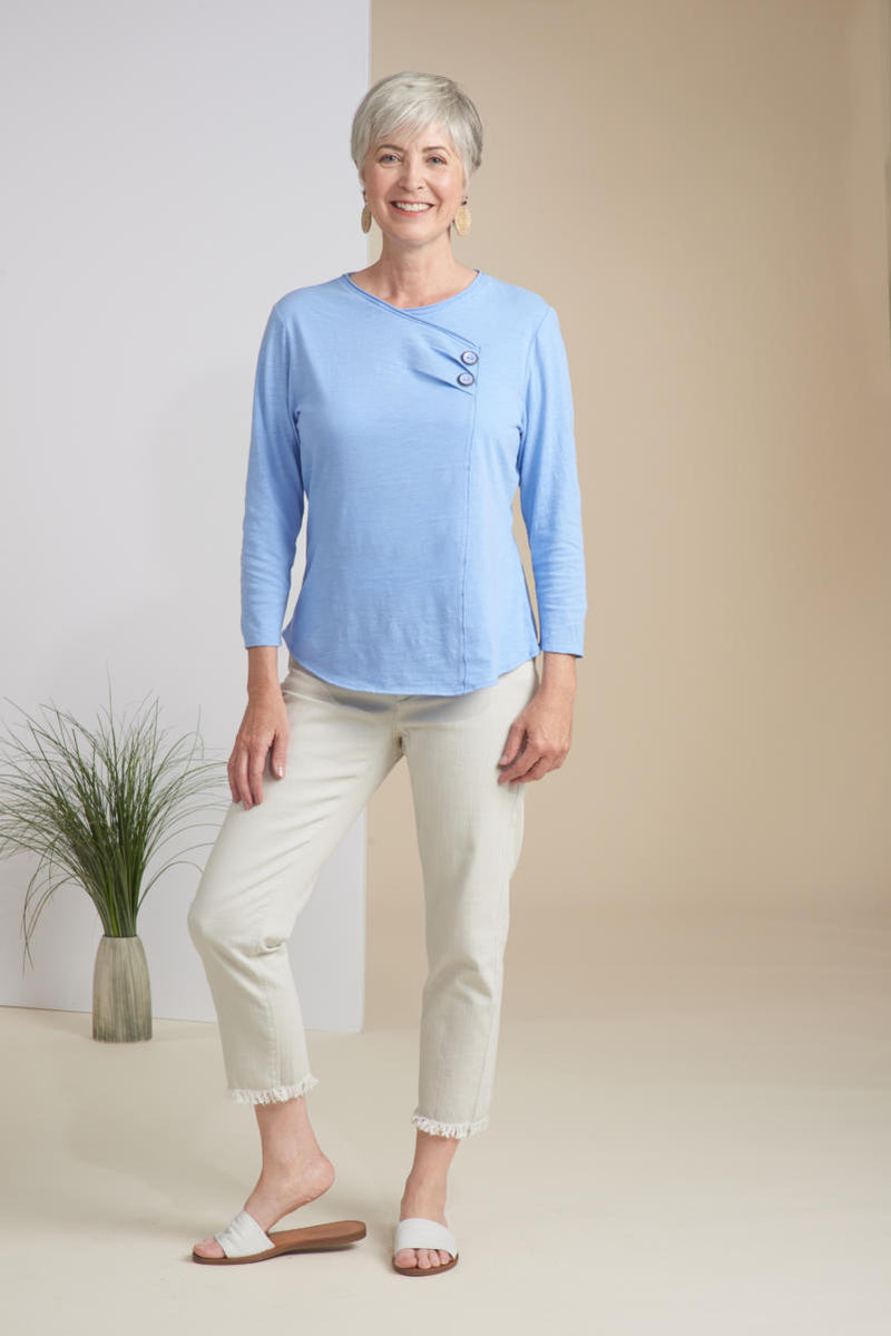 Seamist Surplice Top