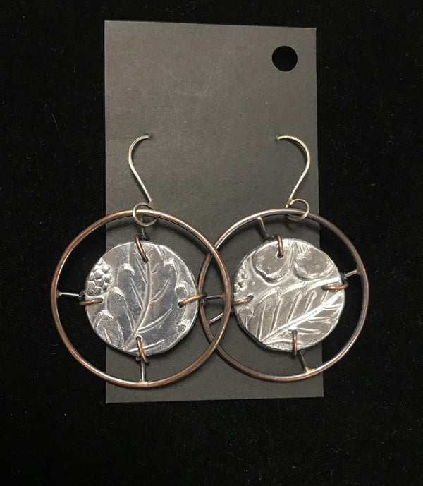 Wagon Wheel Earring