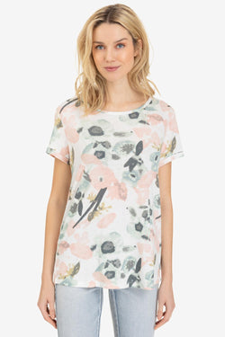 Watercolor Floral Tee