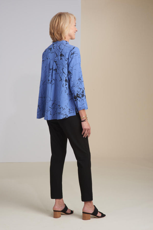 Crackle Print Shirt