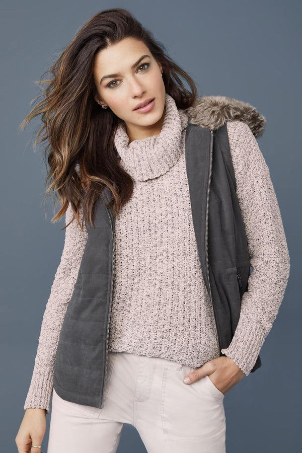 Heathered Pink Sweater