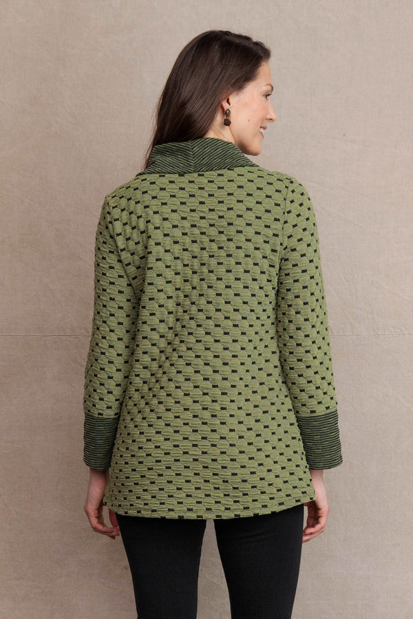 Dots Cowl Tunic
