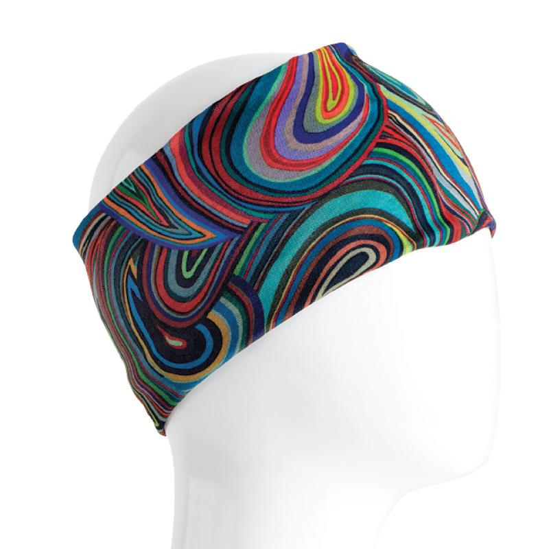 Color Swirl Face Mask/Bandana All in 1