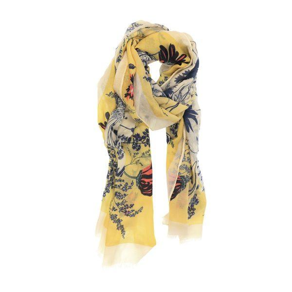 Yellow Spring Ahead Scarf